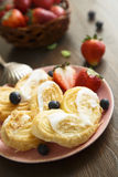 Puff pastry cookies Royalty Free Stock Photography