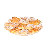 Puff Pastry with Cream Stock Photography