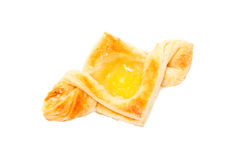 Puff pastry with curd Stock Photography