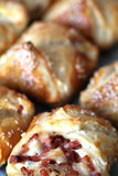 Puff pastry envelopes Royalty Free Stock Photography