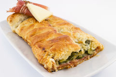 Puff pastry filled Stock Photos