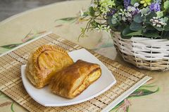 Puff pastry Royalty Free Stock Photos