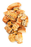 Puff pastry isolated on white Stock Photo