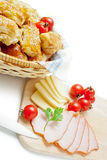 Puff pastry patties Royalty Free Stock Photo