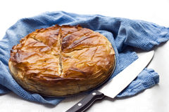 Puff pastry pie Stock Photography