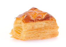 A puff pastry pie with cheese Royalty Free Stock Photography