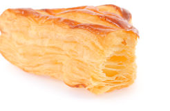 A puff pastry pie with cheese Royalty Free Stock Photo