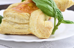 Puff pastry pies Stock Photography