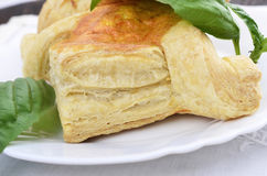Puff pastry pies Royalty Free Stock Photography