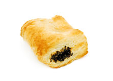 Puff pastry with poppy seeds Royalty Free Stock Images