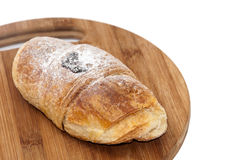 Puff pastry with powdered sugar Royalty Free Stock Images