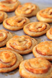 Puff pastry rolls Royalty Free Stock Photography