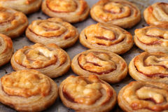 Puff pastry rolls Royalty Free Stock Photos