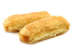 Puff pastry rolls called `banketstaaf` Royalty Free Stock Image