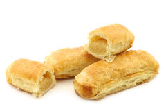 Puff pastry rolls called `banketstaaf` Royalty Free Stock Photo