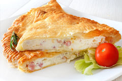 Puff pastry rustic Royalty Free Stock Photos