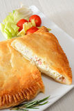 Puff pastry rustic Stock Image