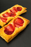 Puff pastry slices Royalty Free Stock Photography