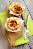 Puff Pastry Snacks Stock Photography