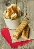 Puff Pastry Sticks Royalty Free Stock Photo