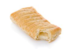Puff pastry stuffed with melted cheese Royalty Free Stock Photos