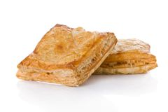 Puff pastry (sweet or salted) royalty free stock images