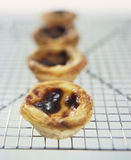 Puff pastry tartlets Royalty Free Stock Image