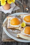Puff pastry tarts. Stock Photography