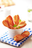 Puff pastry twists Stock Image