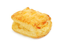 Puff Pastry With Sweet Cheese Stock Photos