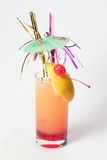 Puff pink cocktail Stock Image