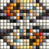 Puff pixels colorful background Royalty Free Stock Images