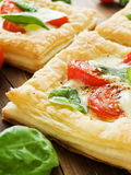 Puff-pizzas Royalty Free Stock Images