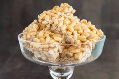 Puff Rice Cake Stock Image
