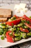Puffbohnesalat-Lebensmittelphotographie Lizenzfreie Stockfotos