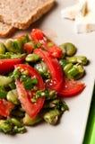 Puffbohnesalat-Lebensmittelphotographie Lizenzfreie Stockbilder