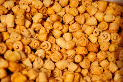Puffed food Royalty Free Stock Images