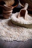 Puffed rice Stock Photo