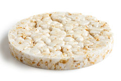 Puffed rice cake. Royalty Free Stock Photography