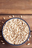Puffed rice cereal Stock Images
