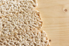 Puffed rice Royalty Free Stock Photo