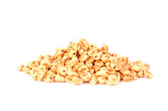 Puffed rice isolated on a white background Stock Images