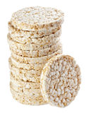 Puffed rice snack Stock Images