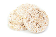 Puffed rice snack Royalty Free Stock Photography