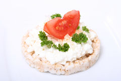 Puffed Rice with Tomatoe VI stock photos