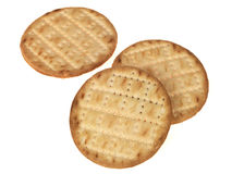 Puffed Savory Crackers Royalty Free Stock Photos