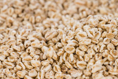 Puffed Wheat background Royalty Free Stock Photography
