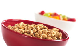 Puffed Wheat Cereal Royalty Free Stock Images
