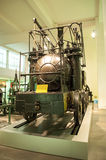 Puffende Billy-locomotief Het museum van de wetenschap, Londen, het UK Royalty-vrije Stock Foto