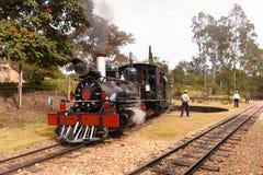 Puffer Parowa lokomotywa obraz stock
